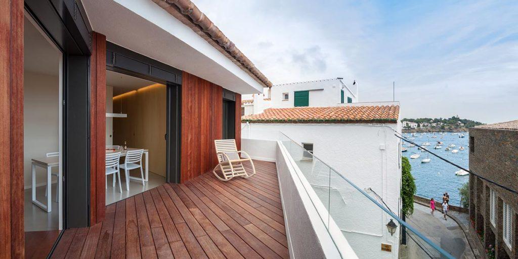 Tancaments alumini apartament Costa Brava
