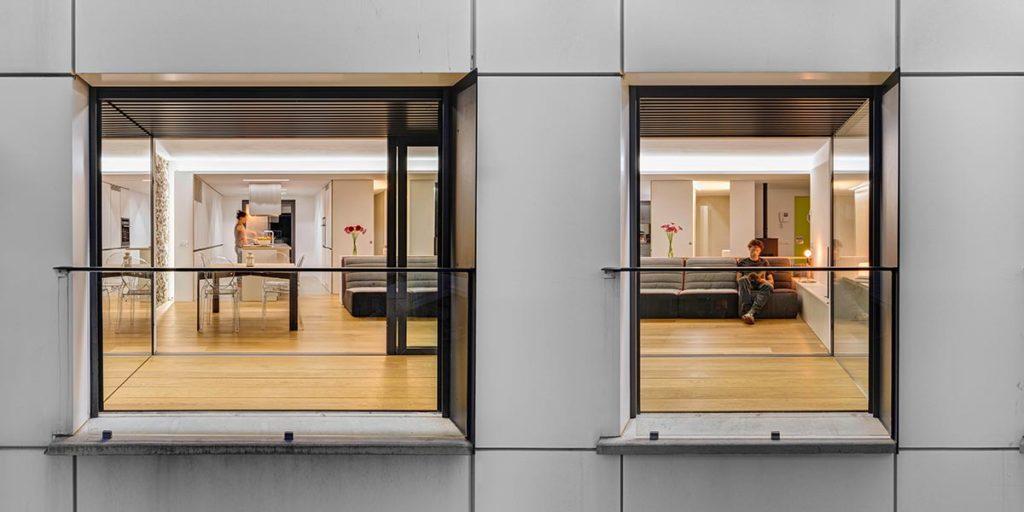 Tancaments d'alumini de finestres